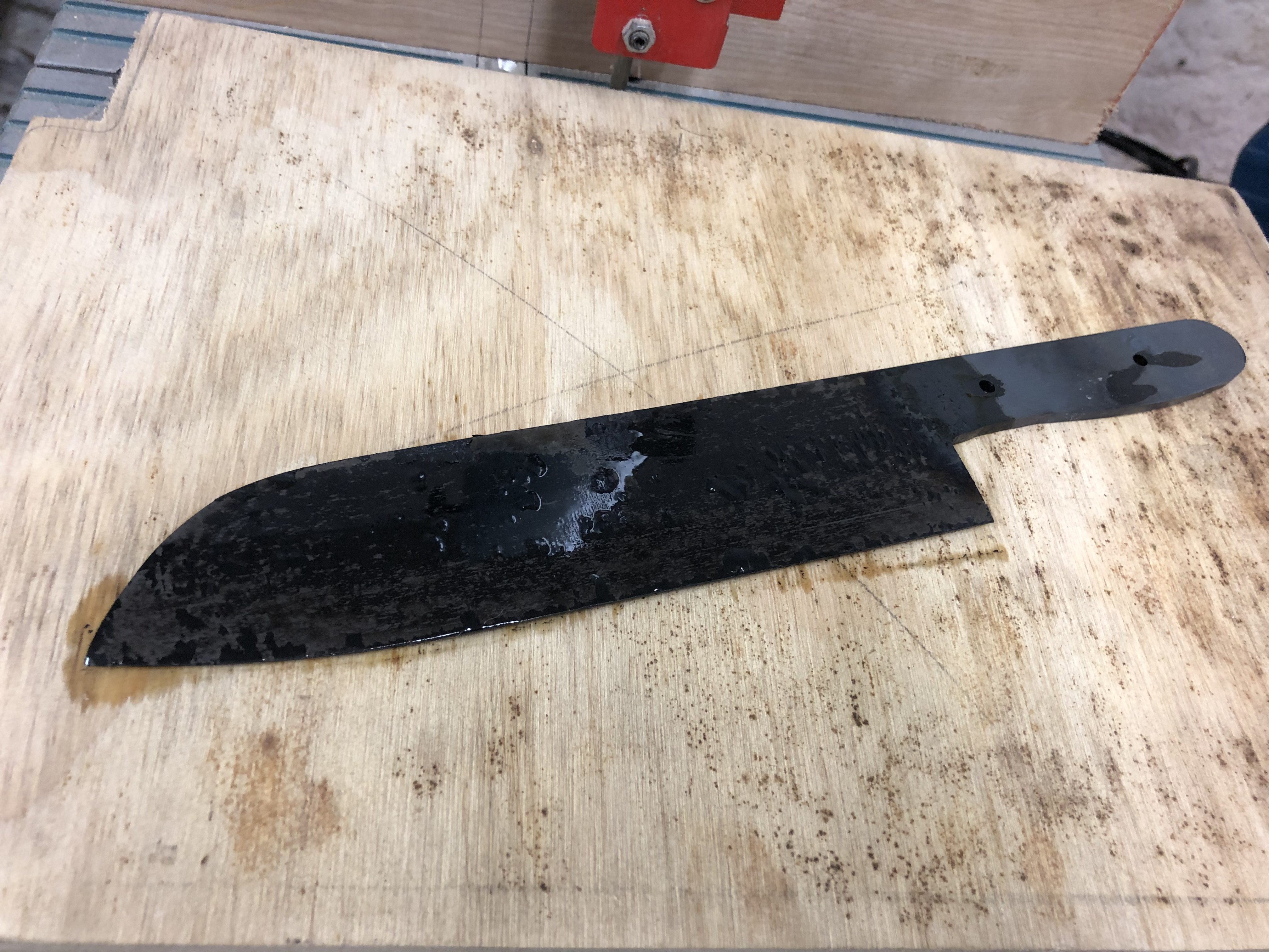 result of the heat treat